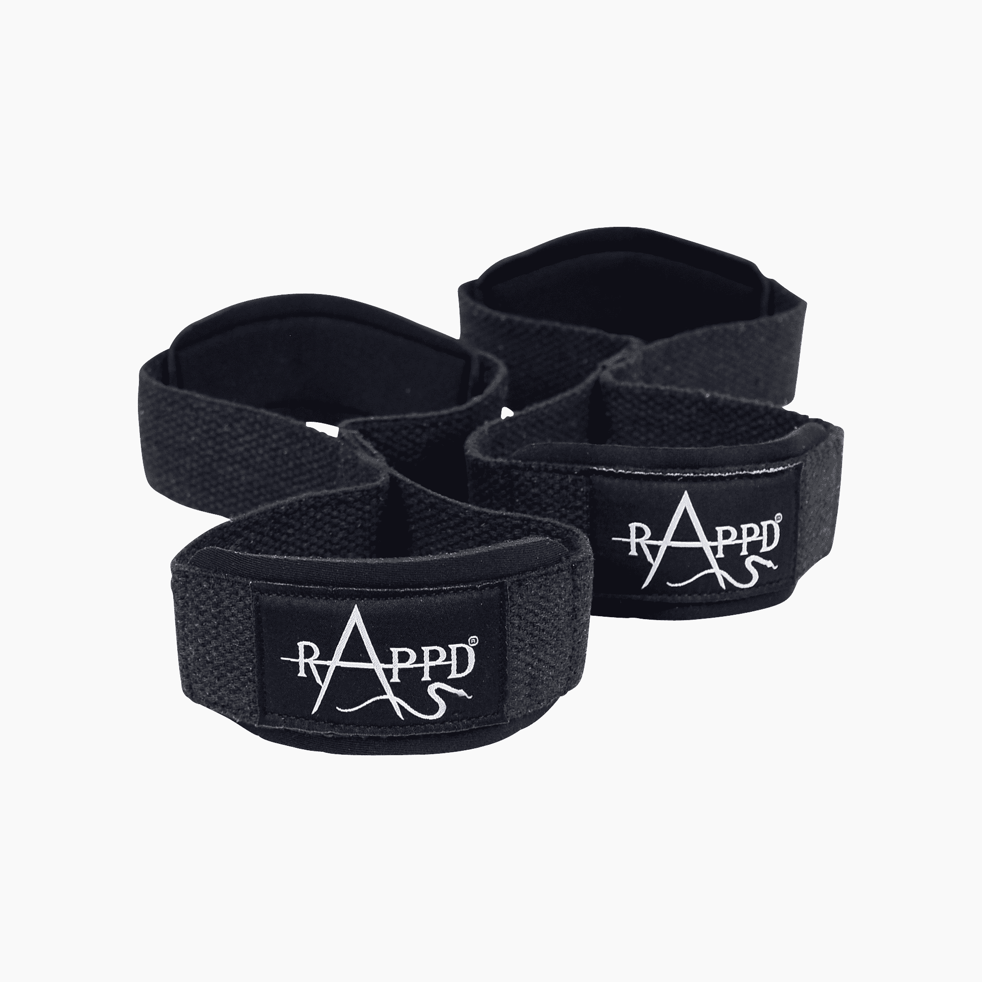 figure 8 weightlifting straps by rappd