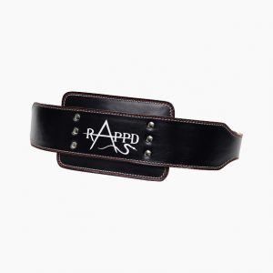 Leather dipping belt by Rappd