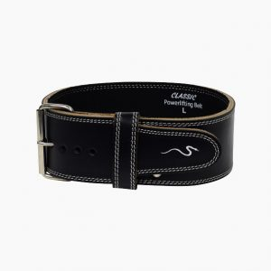Powerlifting belt leather classic by Rappd