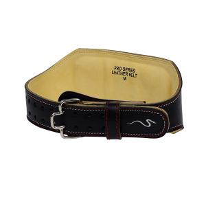 """Weight Lifting Belt 6"""" Pro Series Leather"""