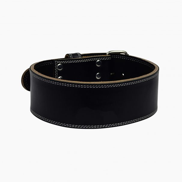 custom leather weightlifting belt