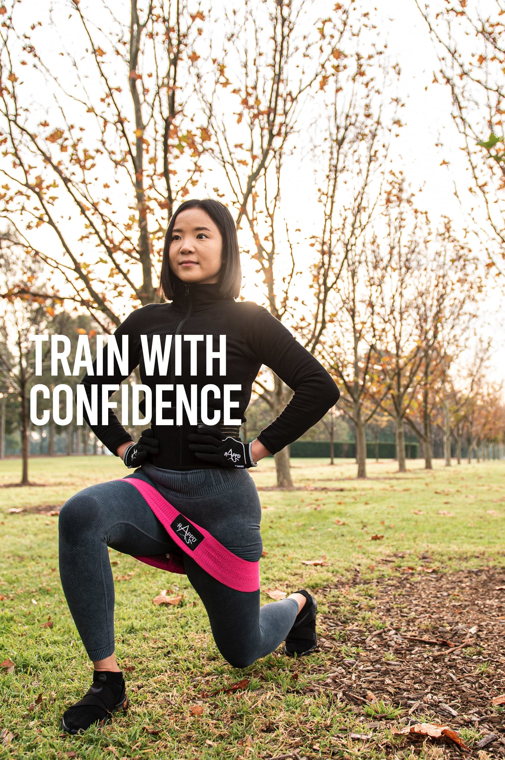 Rappd, train with confidence