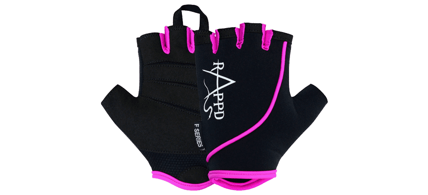 F series gloves in pink