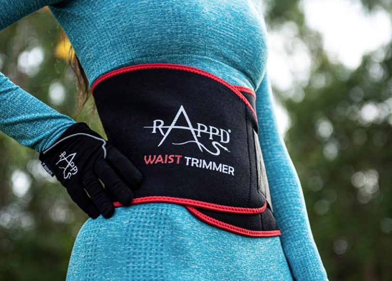 Woman wearing Rappd Waist Trimmer